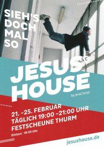 JesusHouse_Plakat